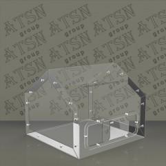 Ящик для пожертвований домик