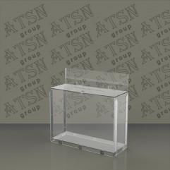 Ящик для пожертвований из прозрачного пластика