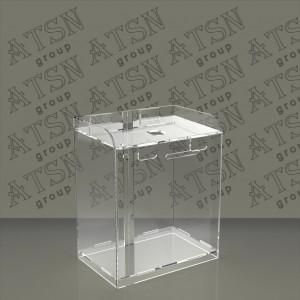 Ящик для пожертвований, пластиковый