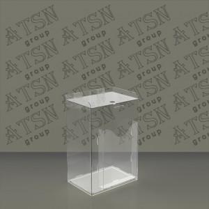 Акриловый ящик для пожертвований