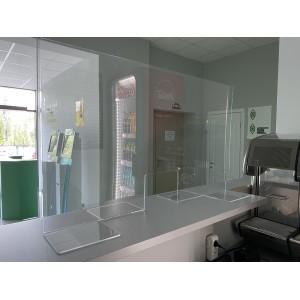 Защитный экран для рабочего места 4 мм