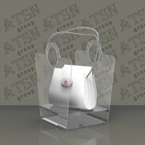 Акриловая подставка под сумку
